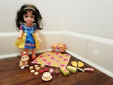 Snow White Picnic Party Toddler Doll with Playset Accessories