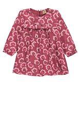 bellybutton Kleid mit Rüsche und Blütenmotiv rot pink Mini Girl mnam 1973138 Neu