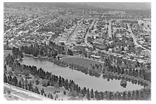 MARYBOROUGH Vic Lake Victoria Jubilee Oval 1926 modern Digital photo Postcard