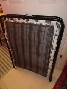 Jay-Be Single Folding Bed with Mattress, used only once