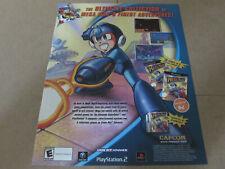 MEGA MAN ANNIVERSARY COLLECTION Nintendo Advertisement Promo Authentic Original