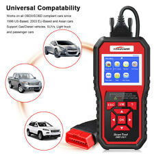 OBD2 Scanner Engine Code Reader Scan Reset Tool One Click Check EOBD KW850 US