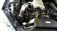 BCP BLACK For 2010-2012 Genesis Coupe 3.8L V6 Racing Air Intake Kit +Filter