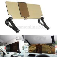 Car Anti-Glare Sun Visor Shield Extension Clip For Day/Night Anti-dazzle Amber