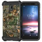 For Nokia 3.1C / Nokia 3.1A Triple Layer Holster Clip Case