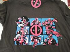 Loot Crate /& Geek Fuel 2 DeadPool XXL T Shirts Tacos /& Chimichangas /& Q Fig LOT