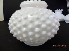 Vintage Hobnail White Glass Lamp Shade Lampshade Porch Ceiling Outdoor Lamp