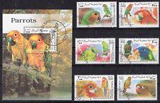 Somalia 1999 - Parrots Birds Nature Fauna - CTO -  D11