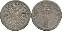 Dreier 1555 Brandenburg Preussen Berlin Joachim II., 1535-1571, Adler #M253