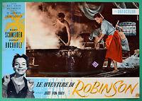 T48 Fotobusta die Abenteuer Von Robinson Romy Schneider Horst Buchholz Baku 7