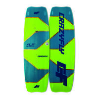 2018 CrazyFly Allround Kitesurfing Board - Beginner Intermediate Kiteboard new