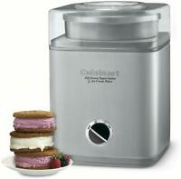 Cuisinart ICE-30BC Pure Indulgence 2-Quart Automatic Frozen Yogurt, Sorbet, And