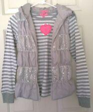 LOT OF 2 Heart Soul Girls Hooded Puffer Vest & Tee Set, Size XL (14-16) MSRP $44