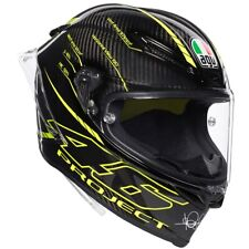 AGV Pista GP R Motorcycle Helmet Project 46 Valentino Rossi 3.0 Replica Large