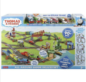 NEW & SEALED Thomas and Friends All Around Sodor Deluxe Train Set