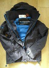 Mens Superdry Arctic Windcheater Pop Zip Jacket Fleece Winter Coat Blue Size S