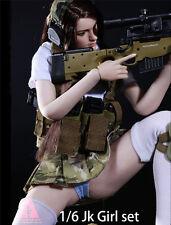 "ARMSHEAD 1/6 JK Girl Set Combat Uniform Cloth Model For 12"" Toy Doll Figure"