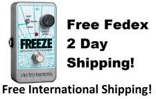 New Electro-Harmonix Ehx Freeze Sound Retainer Guitar Effects Nano Pedal!