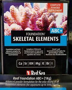 Red Sea Reef Foundation ABC+ 1kg Powder Supplement Marine Reef Aquarium Fast Del