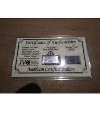 ***Ultra Rare*** ACB 1 g 99.9% Pure Palladium Bar - Sealed in Cert. Card