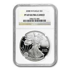 2008-W Proof Silver American Eagle PF-69 NGC - SKU #37300
