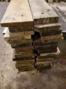 30 BOARDS/PLANKS RECLAIMED RECYCLED PALLETS/CLADDING/GARDEN/HOME/DIY