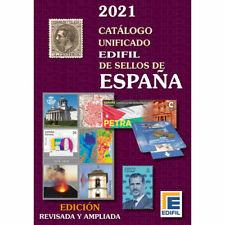 CATALOGO EDIFIL SELLOS ESPAÑA 1850 AL 2020 UNIFICADO EDICION 2021 A COLOR