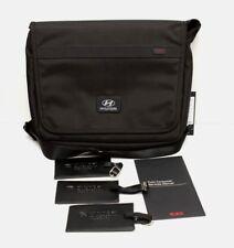 NWT Tumi Alpha Mini Messenger Tablet Crossbody Bag Hyundai Logo Black $295