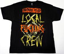 MACHINEHEAD LOCAL CREW T-shirt Machine Head Nu Metal Tee Adult XL Black New