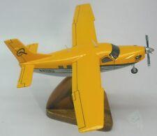 Quest Kodiak Turboprop Airplane Desktop Kiln Dry Wood Model Regular New
