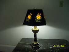 C.1950/60 TABLE LAMP BRASS AND MARBLE