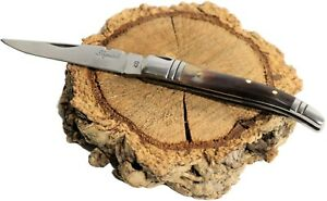 Laguiole Folding Knife with Horn Handle Made in France