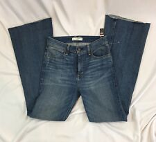 Abercrombie & Fitch Women's Jeans Size 2 High Rise Flare Cutoff NWT