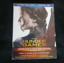 THE HUNGER GAMES 1, 2, 3, 4 Blu-ray + Digital HD + FREE SHIPPING!!! #HungerGames