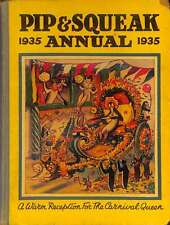 Pip and Squeak Annual 1935, Anon., Good Condition Book, ISBN