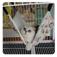 Pet Cat Hammock Bed Basket Cradle Animal Hanging Kitten Cage Comforter Ferret