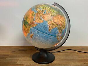 Scan-Globe A/S Diameter 30cm World Globe Lamp Light Made In Denmark