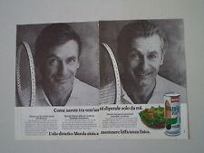 advertising Pubblicità 1982 OLIO MAZOLA