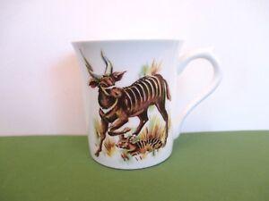"Rosina Bone China ""Antelope"" Cup, England"