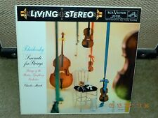 TCHAIKOVSKY: SERENADE FOR STRINGS MUNCH RCA SD LSC-2105 (18S/15S)