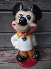 Vintage Antique Walt Disney Mickey Mouse Chalkware Piggy Bank