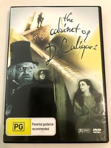 The Cabinet Of Dr Caligari dvd