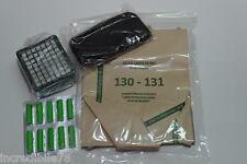 Vorwerk Kobold Vk 130 131 Kit 18 sacchetti 30 profumi 3 filtro odori 3 Hepa