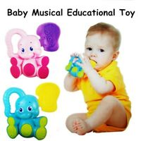 Baby Kids Animal Handbells Musical Developmental Toy Bed Bells Soft Rattle Toys