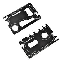 Multi-function Tool Card Screwdriver Wrench Ruler Bottle Opener Outdoor Escape