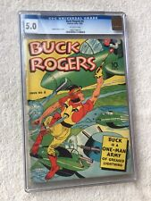 Buck Rogers #4 Eastern Color CGC 5.0 1942 Off-white pages  FREE Bonus