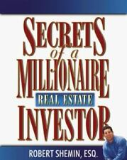 Secrets of a Millionaire Real Estate Investor by Robert Shemin (2000, Book, Othe