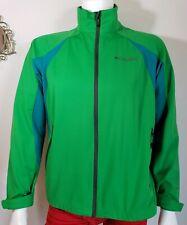Columbia Omni Wind Block Jacket Mens M Windbreaker Omni Heat Green Full Zip