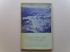 Galapagos, las ultimas islas encantadas- by Paulette Rendon,1st ed.,1946- Scarce