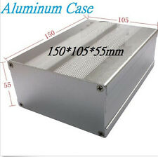 Electronic Aluminum Project Box Enclousure Cases 150*105*55mm with Ears
